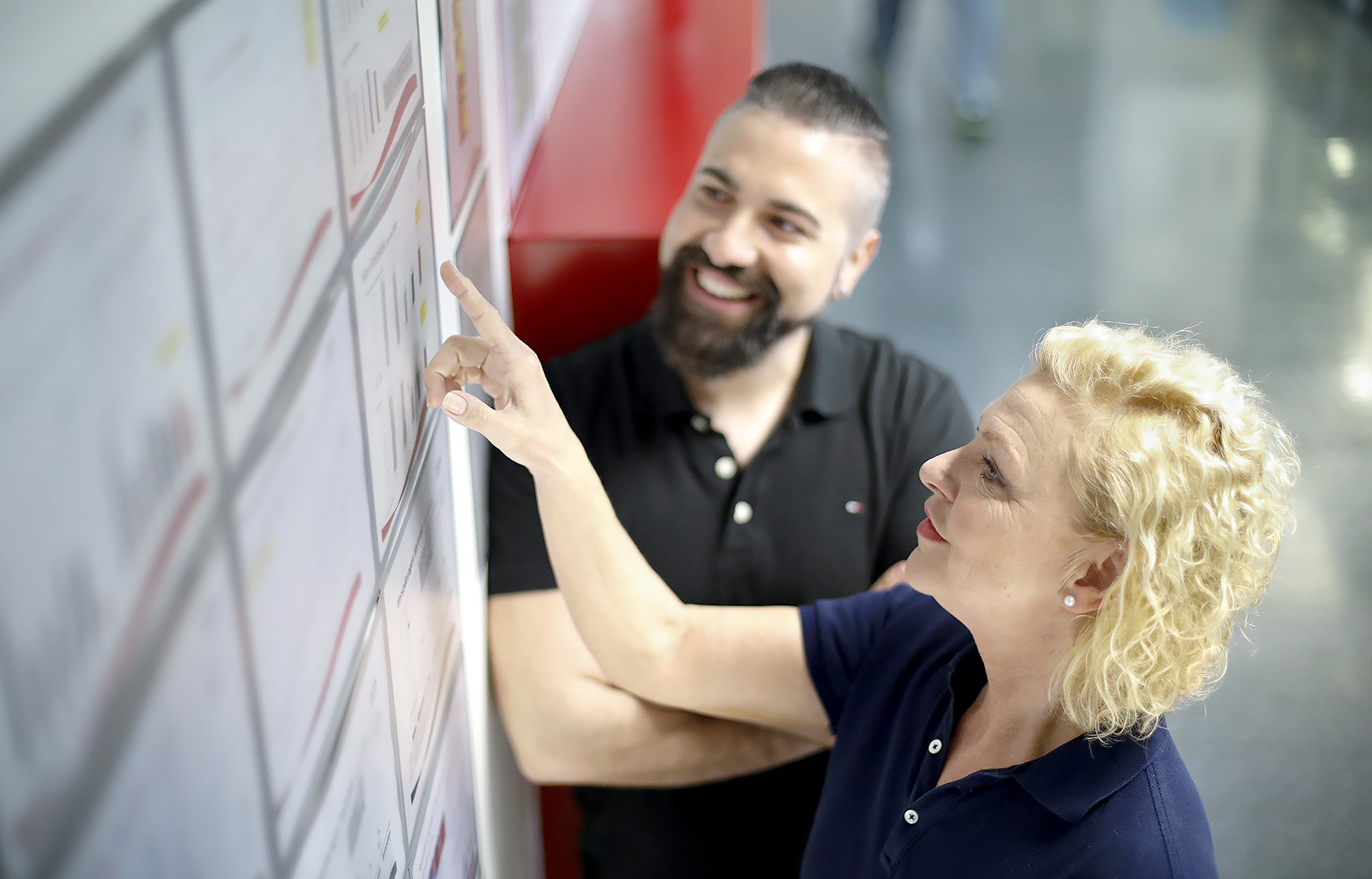 Bei der VRM steht vieles im Vordergrund: Wissen vermitteln, gut zusammenarbeiten, freundlich miteinander umgehen.