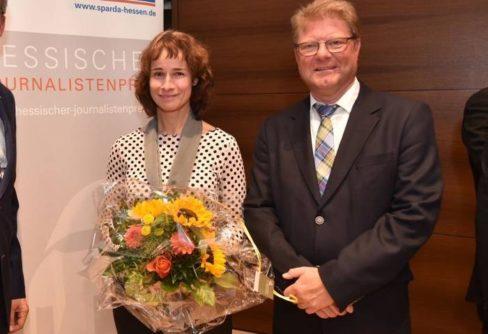 Auszeichnung: Hessischer Journalistenpreis für zwei VRM-Titel