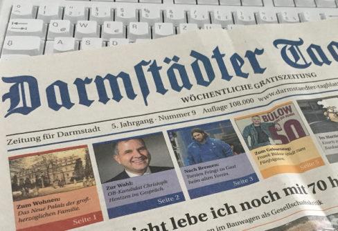 """Darmstädter Tagblatt sagt """"Auf Wiedersehen"""""""