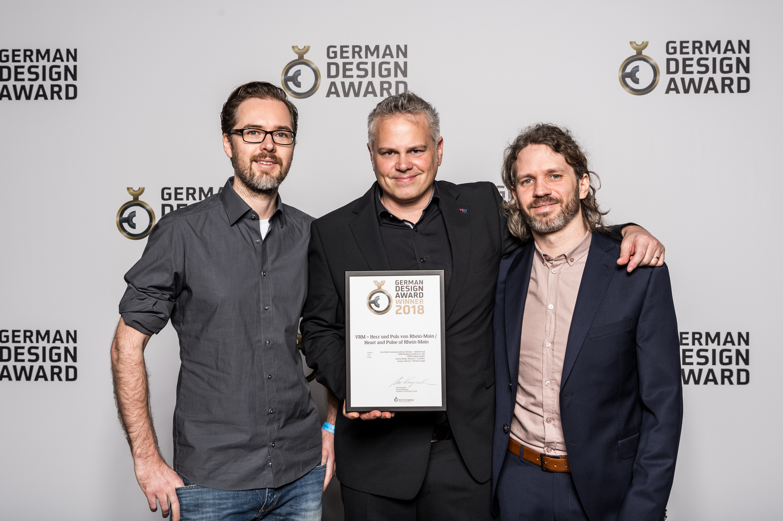Das Kreativteam rund um den Imagefilm: Bastian J. Schiffer, Simon Rauh und Gregor Bonnet (v. links).