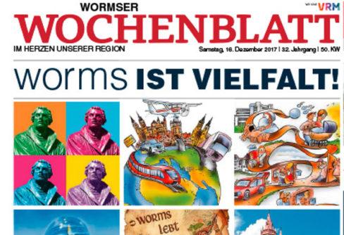 Wormser Wochenblatt für BVDA-Branchenpreis nominiert