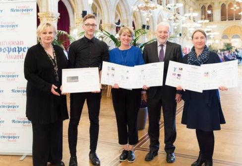 Sechs Newspaper-Awards für VRM Tageszeitungen