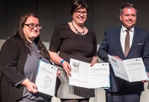 Sonderpreis der Konrad-Adenauer-Stiftung für AZ-Serie