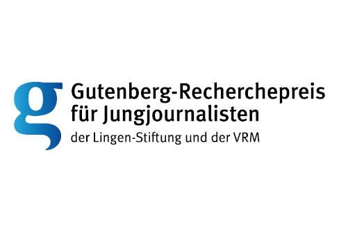VRM und die Lingen-Stiftung verleihen erstmals den Gutenberg-Recherchepreis für Jungjournalisten